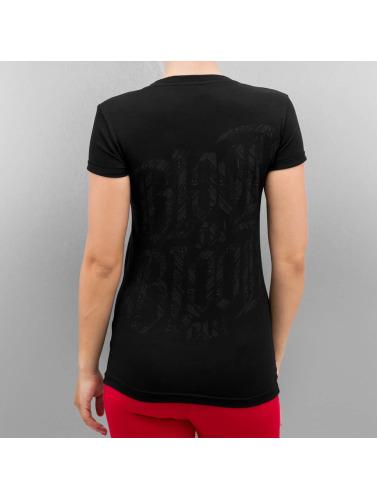 Blood In Blood Out Damen T-Shirt Logo in schwarz 100% Authentisch Verkauf Online Verkauf Billig Neue Art Und Weise Stil DCTsHd1