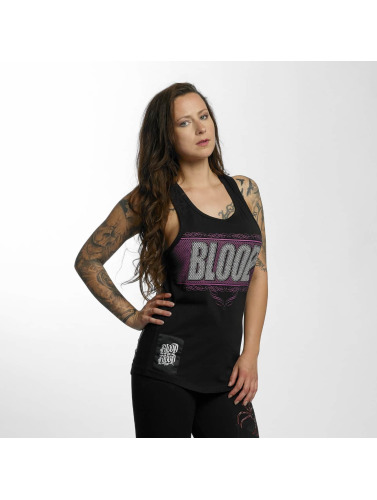 Blood In Blood Out Mujeres Tank Tops Clean Logo in negro