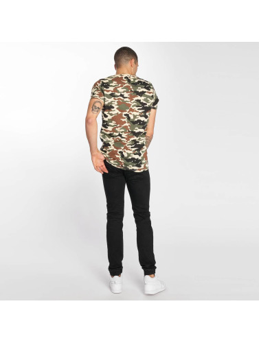 Brave Soul Hombres Camiseta Disguise in camuflaje