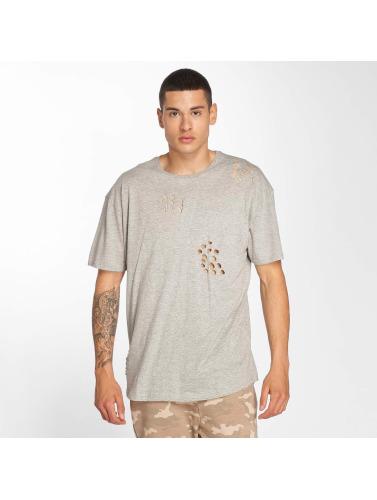 Brave Soul Hombres Camiseta Benji in gris