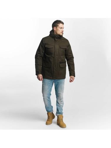 Brave Soul Hombres Chaqueta de invierno <small>             Brave Soul         </small>         <br />          Winter Jacket in caqui