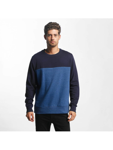 Brave Soul Hombres Jersey Vinnie in azul