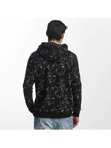 Brave Soul Herren Pullover All Over Print in schwarz