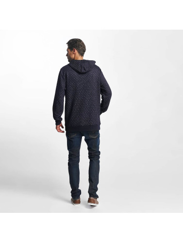 Brave Soul Hombres Sudadera Saxon Overhead With DTM Shoelace in azul