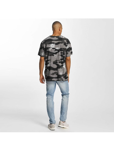 Brave Soul Herren T-Shirt Soft Printed All Over in camouflage