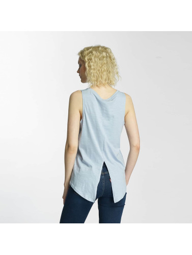 Brave Soul Damen Tank Tops Printed in blau