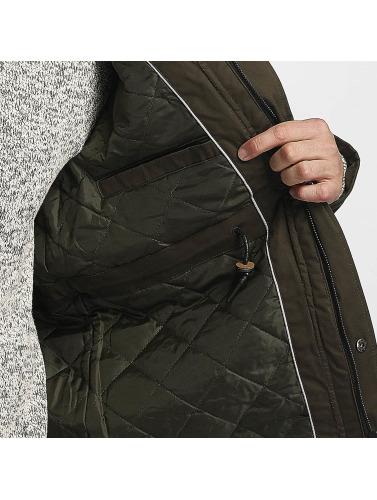 Brave Soul Herren Winterjacke  <small>     Brave Soul </small>   <br></br>   <br></br>  Winter Jacket in khaki Billigshop EMpRsRi