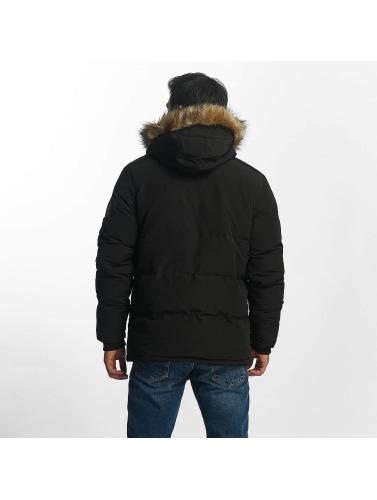 Brave Soul Herren Winterjacke Winter in schwarz