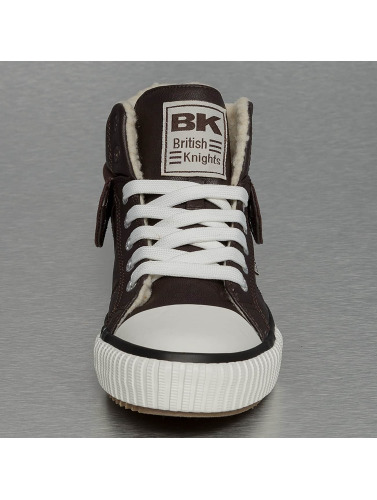 British Knights Damen Sneaker Roco PU WL Profile in braun