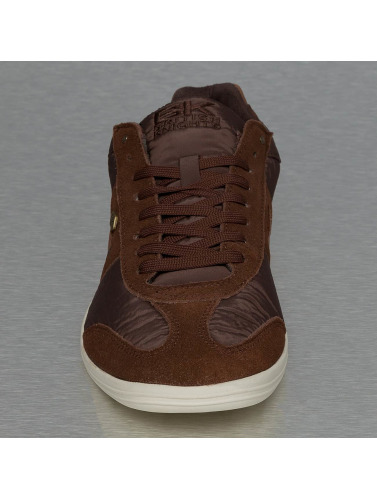 British Knights Herren Sneaker Rizzo Nylon Suede in braun