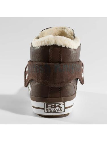 British Knights Herren Sneaker Roco PU WL Profile in braun