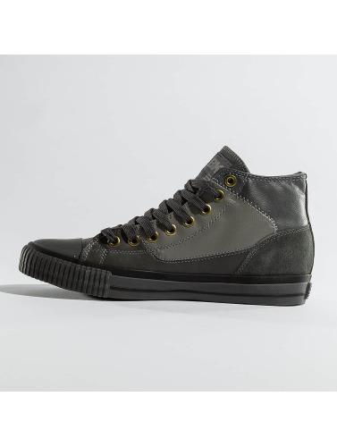 British Knights Herren Sneaker Slider PU Suede in grau