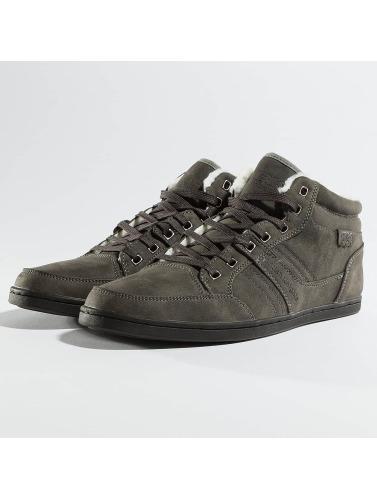 British Knights Herren Sneaker Re-Style Mid PU WL in grau