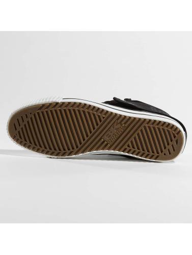 British Knights Herren Sneaker Roco Suede Profile in schwarz