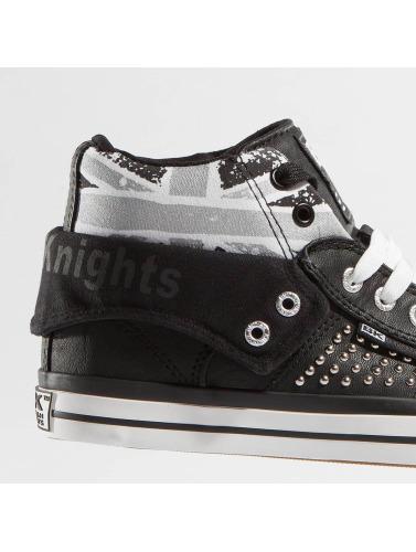 British Knights Damen Sneaker Roco PU Rivets in schwarz