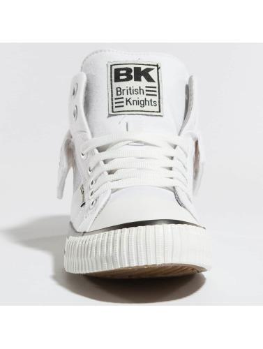 British Knights Hombres Zapatillas de deporte Roco in blanco