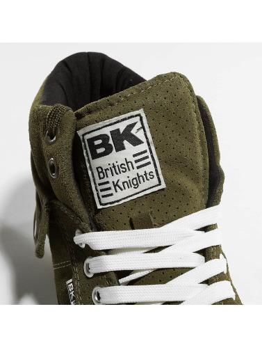 British Knights Hombres Zapatillas de deporte Roco Suede Profile in caqui