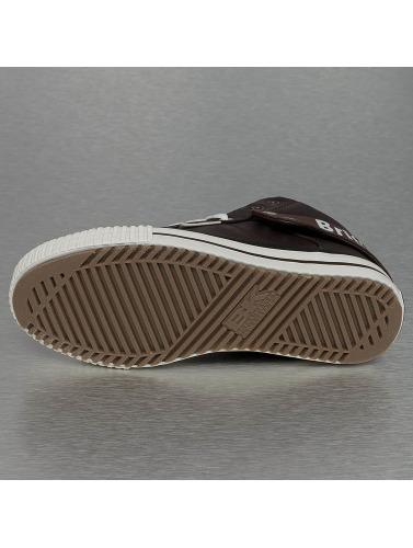 British Knights Mujeres Zapatillas de deporte Roco PU WL Profile in marrón