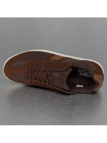 British Knights Hombres Zapatillas de deporte Rizzo Nylon Suede in marrón