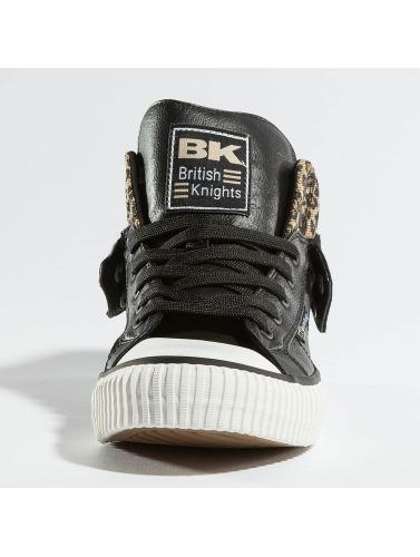 British Knights Hombres Zapatillas de deporte Roco PU in negro