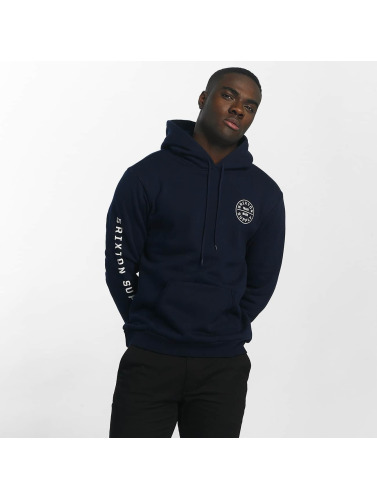 Brixton Herren Hoody Oath Fleece in blau