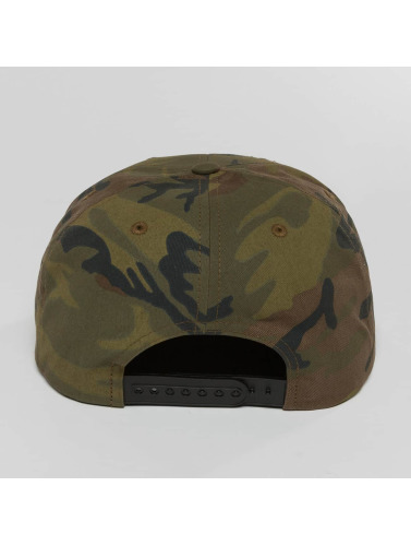 Brixton Snapback Cap Wheeler in camouflage