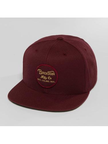 Brixton Snapback Cap Wheeler in rot