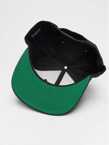 Brixton Snapback Cap Wheeler in schwarz