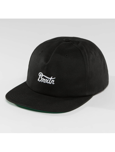 Brixton Snapback Cap Potrero in schwarz