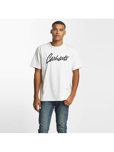Carhartt WIP Hombres Camiseta Stray in beis