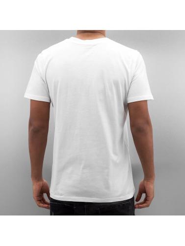 Carhartt WIP Hombres Camiseta Standard Crew Neck in blanco