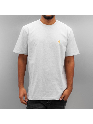Carhartt WIP Hombres Camiseta Chase in gris