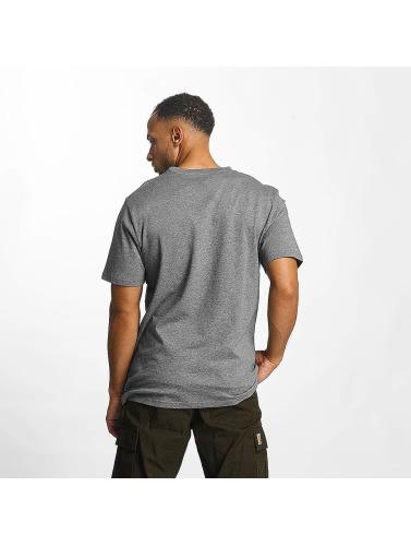 Carhartt WIP Hombres Camiseta Script in gris