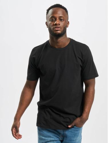 Carhartt WIP Hombres Camiseta Standard Crew Neck in negro