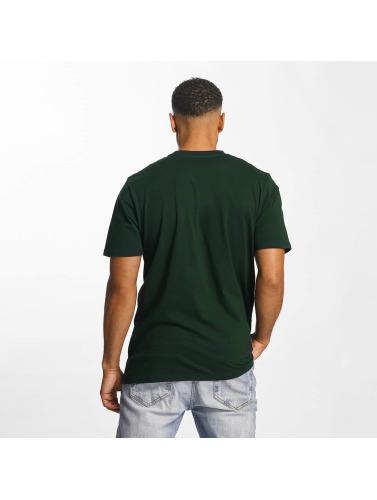 Carhartt WIP Hombres Camiseta Script in verde