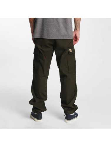Carhartt WIP Herren Cargohose Columbia Regular Fit in grün