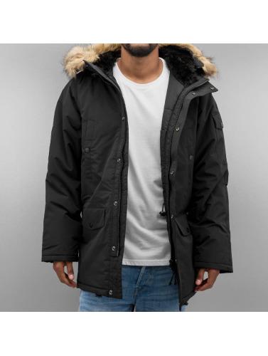 Carhartt WIP Hombres Chaqueta de invierno Anchorage in negro