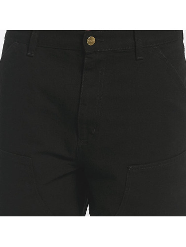 Carhartt WIP Herren Chino Dearborn Double Knee in schwarz
