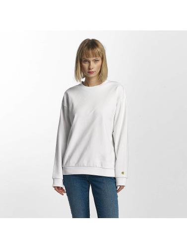eksklusive online Carhartt Wip Mujeres Jersey Jage In Blanco online-butikk manchester for billig QPmuHH