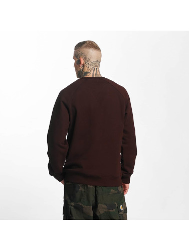 Carhartt WIP Hombres Jersey Chase in rojo