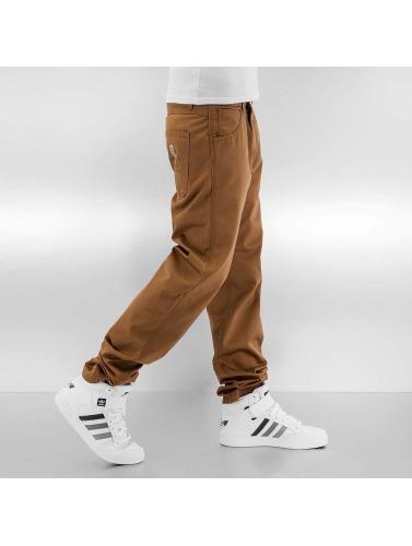 Carhartt WIP Herren Loose Fit Jeans Cortez Slim Fit Skill in braun