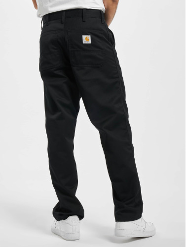 Carhartt WIP Herren Loose Fit Jeans Denison Twill Simple in schwarz