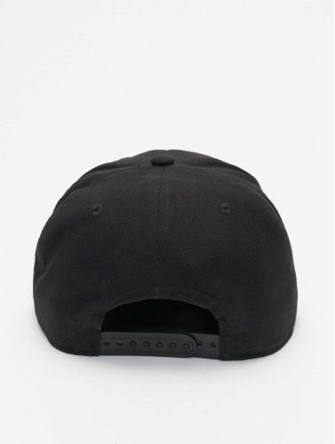 Carhartt WIP Snapback Cap Logo Canvas in schwarz