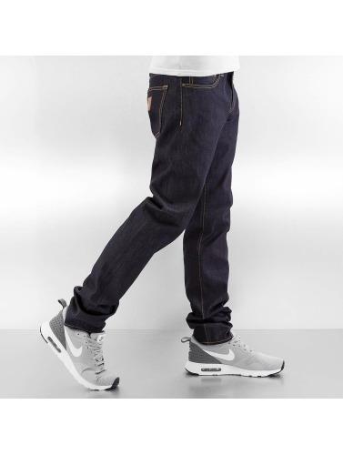 Carhartt WIP Herren Straight Fit Jeans Hanford Buccaneer in blau
