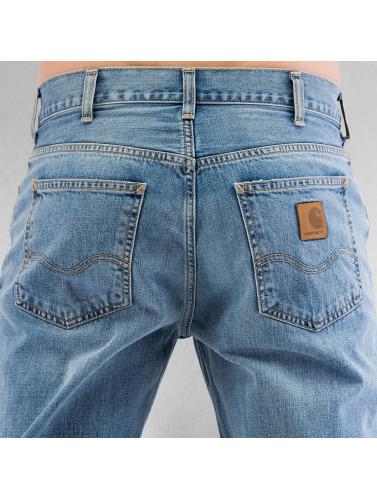 Carhartt Wip Herren Straight Fit Jeans Marlow In Blau