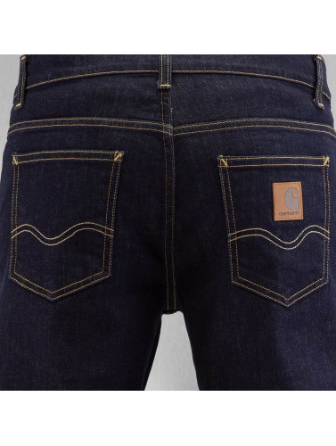 Carhartt WIP Herren Straight Fit Jeans Texas Pant in blau