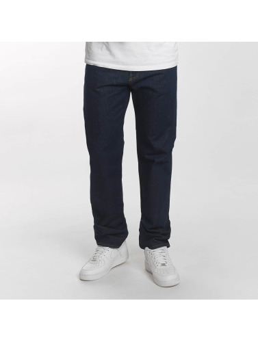 Carhartt WIP Herren Straight Fit Jeans Milton Pontiac Relaxed in blau