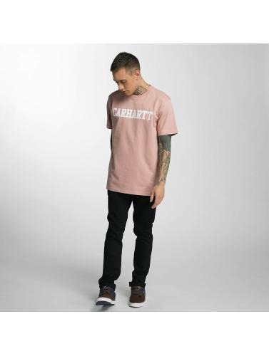 Carhartt WIP Herren T-Shirt College in rosa