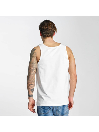 Carhartt WIP Hombres Tank Tops Chase in blanco