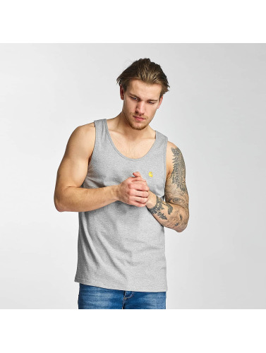 Carhartt WIP Hombres Tank Tops Chase in gris